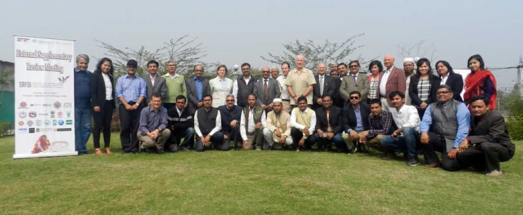 Group photo at the external supplementary review meeting. Photo: CIMMYT.