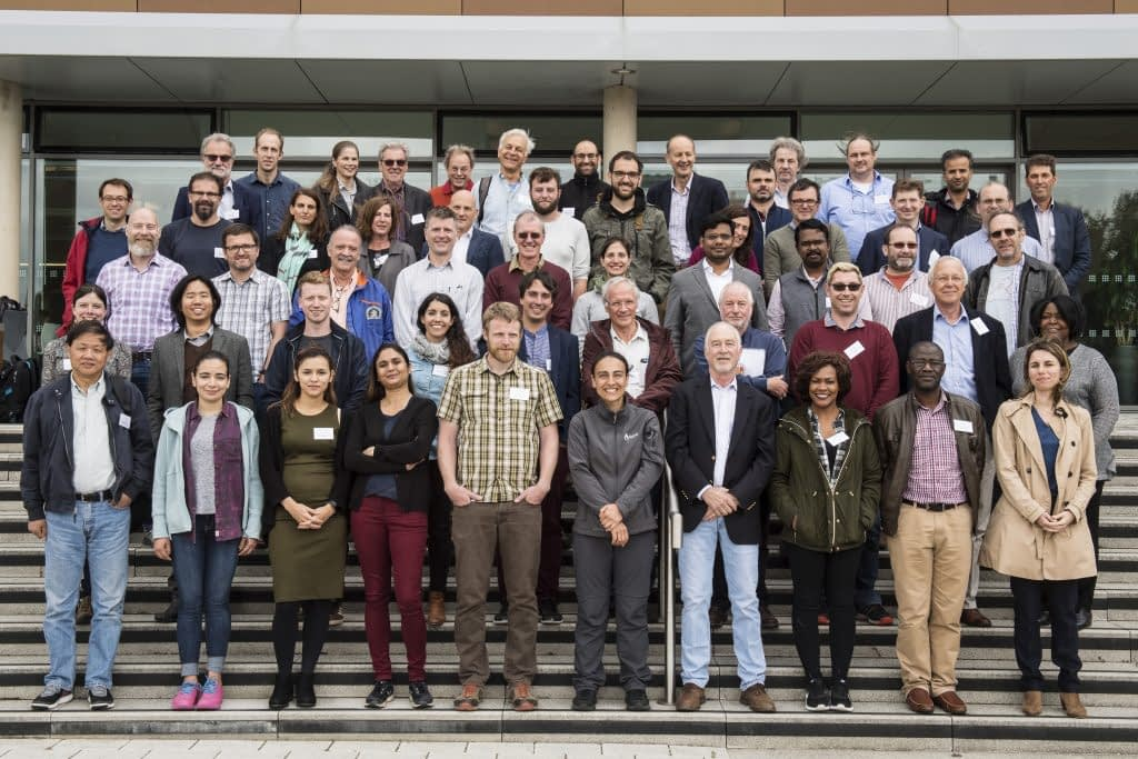 Members of the International Wheat Yield Partnership (IWYP) which focuses on translational research to boost wheat yields.