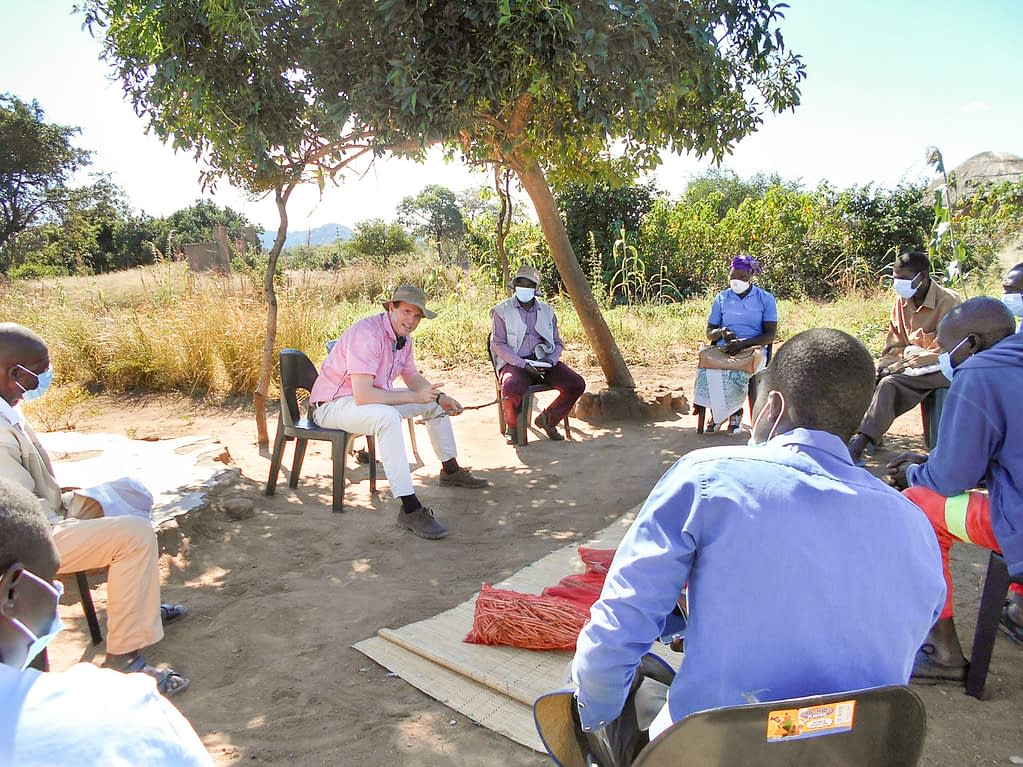 Even in times of COVID-19, the work must continue, observing social distancing and using facemasks. Christian Thierfelder outlines trials with farmers in Mwenezi, Zimbabwe.