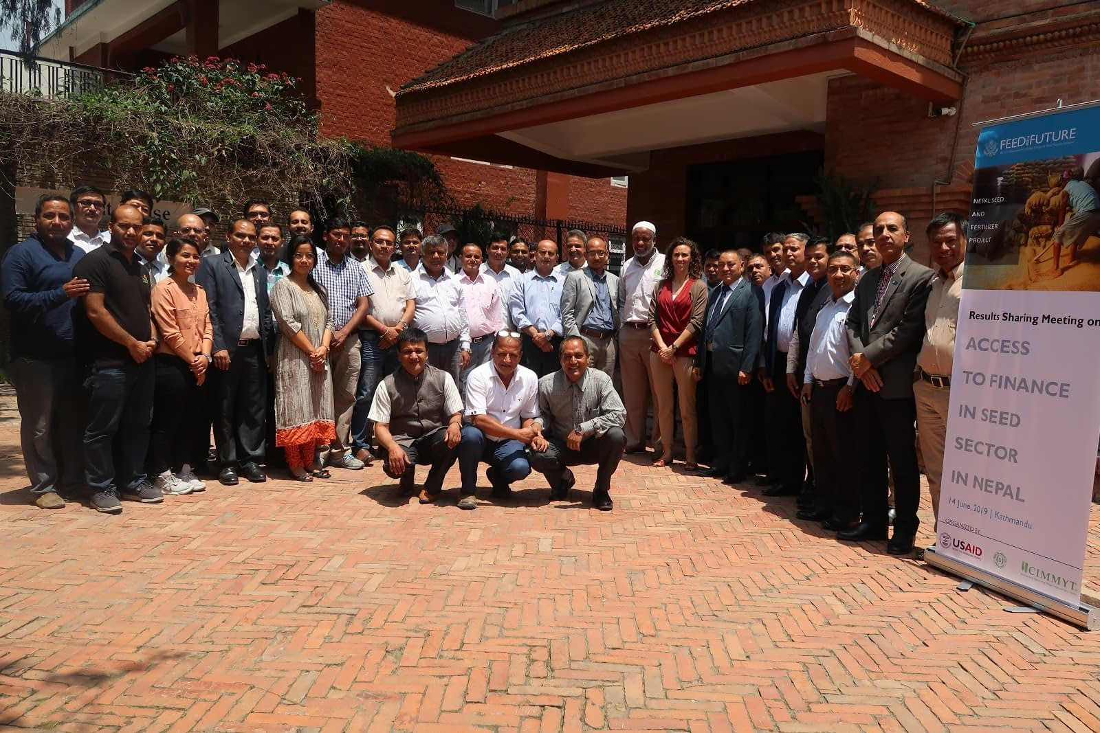 Participants of the results sharing meeting on Access to Finance in Seed Sector in Nepal. (Photo: Bandana Pradhan/CIMMYT)