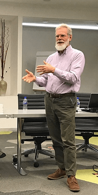 Jim Sumberg, agriculturalist and research fellow at the Institute of Development Studies, discusses how we can support youth and build up rural society at large. Photo: G. Renard/CIMMYT