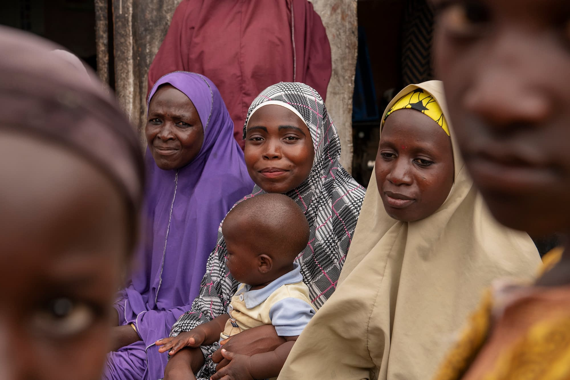 Members of a women's group in Nigeria. (Photo: C. de Bode/CGIAR)