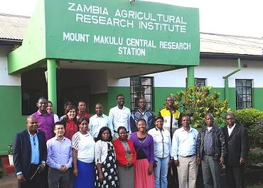 Participants in carotenoid training at ZARI, March 2015. Photo courtesy of Natalia Palacios.