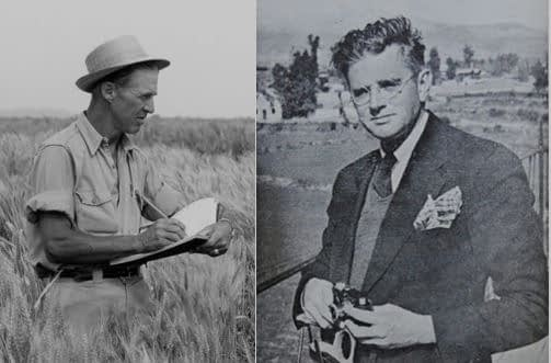 """""""The Wizard and the Prophet"""" looks at the world's most threatening challenges through the eyes of scientists Norman Borlaug (left) and William Vogt. (Photos: CIMMYT, AICBC)"""