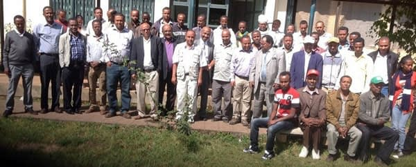 Participants of the CASFESA closure workshop in Ethiopia.