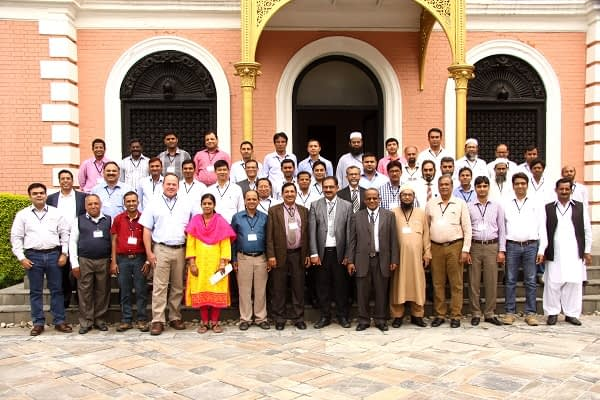 Caption: HTMA team at 4th annual review and planning meeting during 25-26 July, 2016 in Kathmandu, Nepal. Photo: CIMMYT